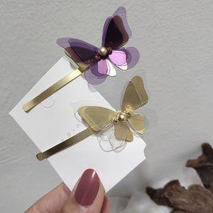 MWsonya Nouveau coréen mignon papillon hairgrips pour femmes filles élégantes Clips Peal Coeur cheveux Accessoires cheveux Bijoux