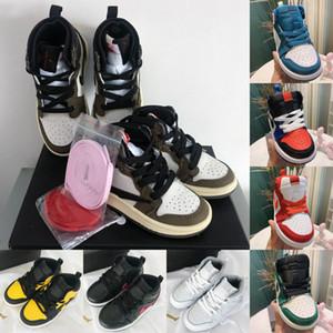 Sneakers per bambini Jam 1s Scarpe da pallacanestro per bambini 1 Infante Ragazzo Ragazza Sneaker Toddlers New Born Baby Trainers Calzature per bambini Taglia: 22-37