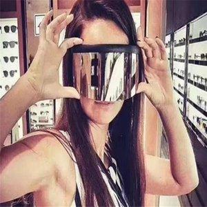 선글라스가 얼굴 반 도촬 안경, 결합 된 렌즈, 대형 선글라스를 커버