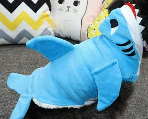 Pet clothes manufacturers supply offer three-dimensional shark shape transformation suit small dog cloth pet dog clothes wholesale price