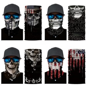 Anti Dust Cycling Mask Skull Scarf Bandanas Magic Headband Cubrebocas Antipolvo Anti Dust Cheap Designer Supply Big Size Fashion Newclipp#373