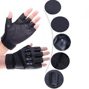 Unisex Half Finger Tactical Military Sniper Outdoor Sports Cycling Bikes Handschuhe Fitness goves Jagd Handverletzungen zu vermeiden