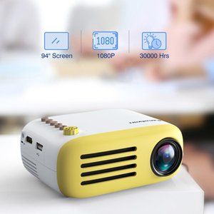 YG200 Portable LED Pocket Mini Projector AV USB SD HDMI Video Movie Game Home Theater Video Projector