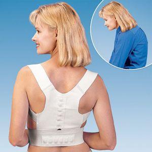 Réglable Posture confortable Correcteur Dos traitement épaule magnétique Élève femmes adultes Douleur Posture Correcteur