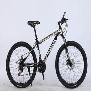karbon çeliği malzeme 21 vitesli çift diskli fren rahat bisiklet aksesuarları dağ bisikleti