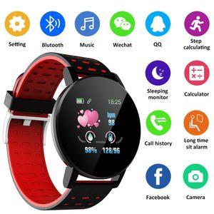 2020 caliente venta 119plus inteligente Reloj Bluetooth GPS impermeable cámara de la pantalla de SIM 3D