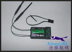 Livraison gratuite 6ch 2.4G Pour Flysky FS-iA6B Récepteur PPM Sortie avec i Port Port Compatible Flysky i4 i6 i10 Transmetteur