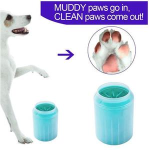Pata do cão mais limpo pet pé lavar copo escova de limpeza pet Gatos Cães pés pincel limpo macio portátil para pés enlameados pet fontes grooming