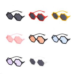 Fashion Children Cut Sunglasses Kids Lips Frame Sun Glasses Anti-UV Spectacles Baby Travel Goggle Eyeglasses Goggle Adumbral A++