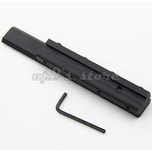 Uzunluk 155mm Av Picatinny Weaver Düşük Profilli Taktik 11mm 20mm Ray Adaptörü 3/8 İnç Raylı Adaptörü 7/8 İnç Kırlangıç için
