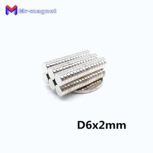 2019 иман 100шт 6x2 неодимовый магнитный диск постоянный N35 NdFeB маленький круглый супер мощный сильный магнит магниты 6 мм х 2 мм