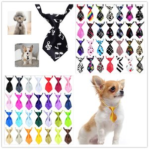 Nuovo Regolabile Pet Tie Dog Cat Teddy Pet Puppy Toy Grooming Bow Tie Cravatta Vestiti Del Partito Cravatta G01