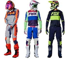 2020 modèles d'explosion Fox 360 Off -Road Mototourisme Costume Costume Racing Veste de costume anti -Fall Pantalons voiture Mx Homme