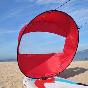 """Portable Kayak Bateau à rames 42"""" Pliable Wind Voile Canoe Sup Durable Paddle Board avec fenêtre transparente Drop Shipping 108 * 108cm"""