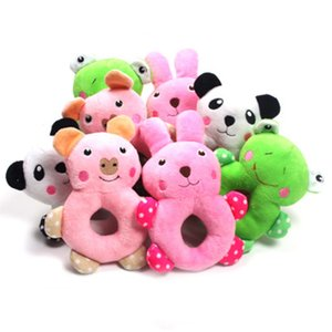 Pet supplies puppy Teddy plush vocal ring toy cute molar puzzle clean teeth dog interactive toy factory direct sales