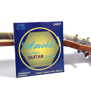 Acoustic Folk Klassik Novice Gitarren Saiten Satz Phosphor Bronze Acoustic Guitar Strings Coated