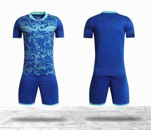 Kids Kit 20 21 Blank Soccer Jersey Customized Jerseys 2020 2021 Football Shirts Full Set uniform