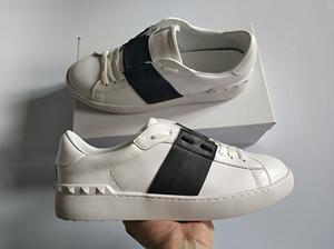 Meilleures ventes Mode Hommes Femmes Chaussures Luxe Designer ouvert bandeau noir classique cuir véritable Casual Chaussures de marque taille design 34-46 à vendre