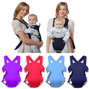 2017 Brand New Regolabile Neonato Toddler Newborn Safety Carrier 360 Four Position Lap Strap Soft Baby Sling Carrier 2-30M