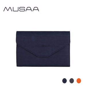 MUSAA Women PU Leather Money Clips Long Key Ring Credit Minimalist Wallet Fashion Purse Multi-function Folding Clutch Bag 2020