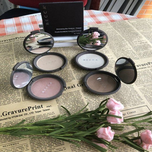 Stock Becca Moonstone Opal Rose Gold Pearl Face Powder Brighten Shimmering Skin Perfector Pressed 4 Colors Bare Face Makeup Palette