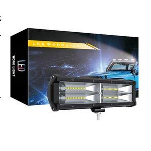 9 Inc 144W Çalışma LED Işık Sel Lambası Sürüş Işık, cip, Off-road, 4wd, 4x4, Kum Raylı, Atv, Motosiklet, Dirt Bike, Otobüs, Fragman, Kamyon