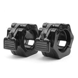 2pcs de 25 mm (1 pulgada) Clips Spinlock collares Barra Dumbell abrazadera barra del peso Cerraduras Varillas
