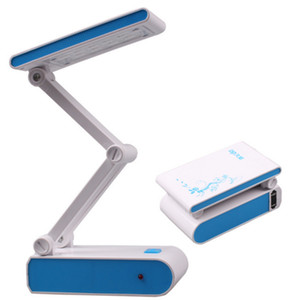 Foldable Desk Lamp 14 LED Student Portable Rechargeable Lamp