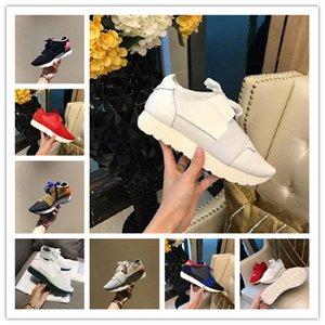 Principais homem mulher B de couro de luxo designer meias arrastão originais respirável calçados esportivos treinador de moda ao ar livre correndo botas sapatos