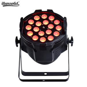 18x10w RGBW casamento festa de aniversário do LED Light Par Zoom Par Can Zoom PAR LED para DJ Disco Dance Floor clubes