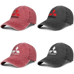 Unisex Mitsubishi-Original-logo-oldsmobile-electric- Fashion Baseball Cap Dad Fitted Adjustable Vintage Hat Cute Denim Mitsubishi logo