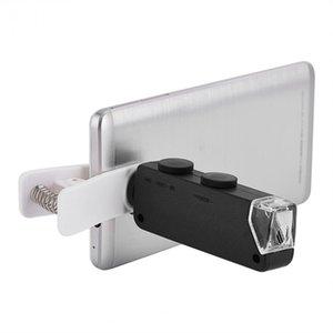 VBESTLIFE Mobile Phone lente 60X-100X Zoom Óptico LED Microscope Lens Clipe Universal frete grátis
