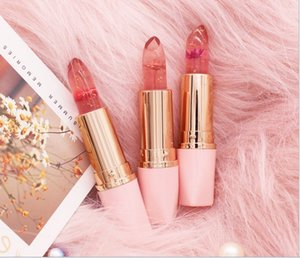new makeup wholesale Dried flower jelly lipstick moisturizes and keeps the color changing