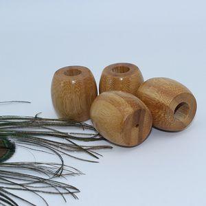 Porta-escovas de bambu natural porta-escovas de madeira Washroom biodegradável suporte de madeira antibacteriano T2I5790