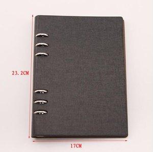 Scrapbooking fustelle Organizzatore Stencil Stamps Collection Album bagagli Prenota Cuoio dell'unità di elaborazione copertine PVC interni e tasche