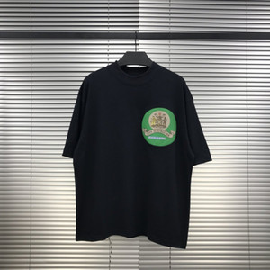 heißer verkaufender JESUS IST KÖNIG grüne Logo atmungsaktiv T Sunday Service T-Shirt-Buchstabe gedrucktes T Männer T-Shirt Frauen einfach mit kurzen Ärmeln Sommer