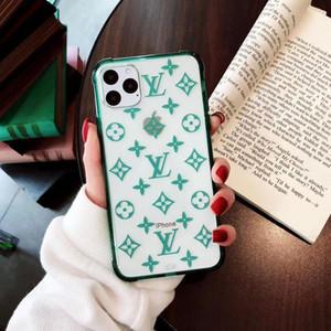 Casos de luxo designer telefone para iphone 11 pro Caso proteção tampa transparente Shell para IPhone X XS XR 8 7 mais Back Cover