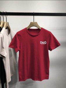 D̴G mens designer t shirts New 2020 Mens Summer Fashion Tees Plus Size Printed T-shirt S-5XL