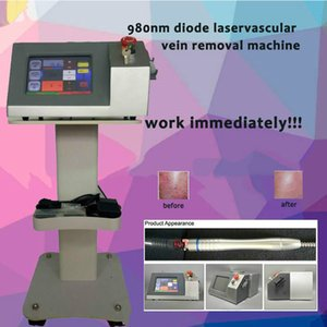 جهاز إزالة وريد العنكبوت المحمول 980nm Diode Laser Valicose Vascular Removal Machine 980 nm Wavelength 20W 30W Beauty Equipment
