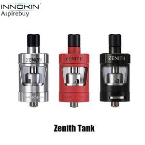 Innokin Zenith tanque 4 ml atomizador con Plexus Z Coil 0.8ohm / 1.6ohm KAL bobina MTL atomizador llenado superior ajustable de flujo de aire inferior Auténtico