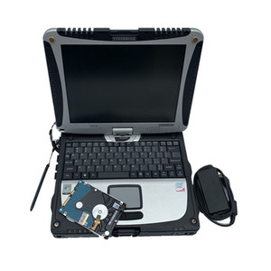 2021 جودة عالية Toughbook CF19 CF-19 Laptop Toughbook for Panasonic CF 19 دعم العمل ل SD C3 C4 C5 ALLDATA أداة تشخيص