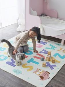 Tappeto strisciante morbido Tatami Cartoon antiscivolo per tappeti con lettere per bambini