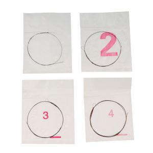 1 Set / 4 Pcs Cordas Para Liu Qin chinês Lute Soprano Lute Liuqin Acessório