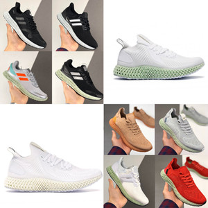 2020 Futurecraft Running Shoes For Men Women 4D Run 1.0 Consortium Ash Green Triple Black Designer Trainer Sport Sneaker