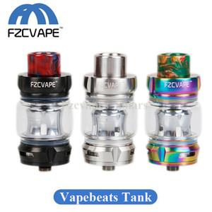 Auténtico tanque de malla FZCVAPE Vapebeats 6.5ml Top Recarga Subohm Vape Pro Atomizador con tubo de vidrio de bombilla 100% original