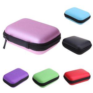 외부 휴대용 HDD되는 PowerBank 저장 보호 블랙 / 레드 / 블루 2.5 인치 HDD 상자 가방 케이스 휴대용 하드 드라이브 이어폰 캐리 가방