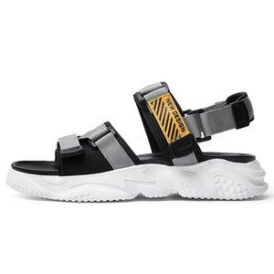 sandalet да работа sandalsslippers крытых людей HOMBRE лето пляжа Uomo кожа ERKEK sandalle Cuire спорт Homme для HEREN пляжа