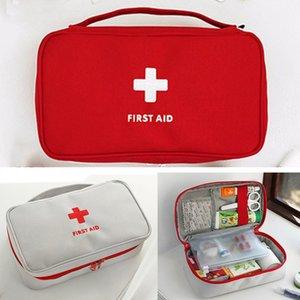 Portable Kit médical de premiers soins d'urgence Kits camping en plein air sac médecine Voyage Accueil Petite boîte médicale vide Cas pilule de survie