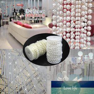 Gros-L1098MM Faux Perle Perles en plastique sur un métier à cordes rouleau deux couleurs