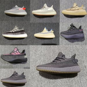 Adidas Yeezy Boost 350 v2 Zapatillas de running reflectantes y no reflectantes negras SYNTH ANTLIA Juventud True Form Junior Static Clay Zapatillas de deporte Zapatillas Lundmark